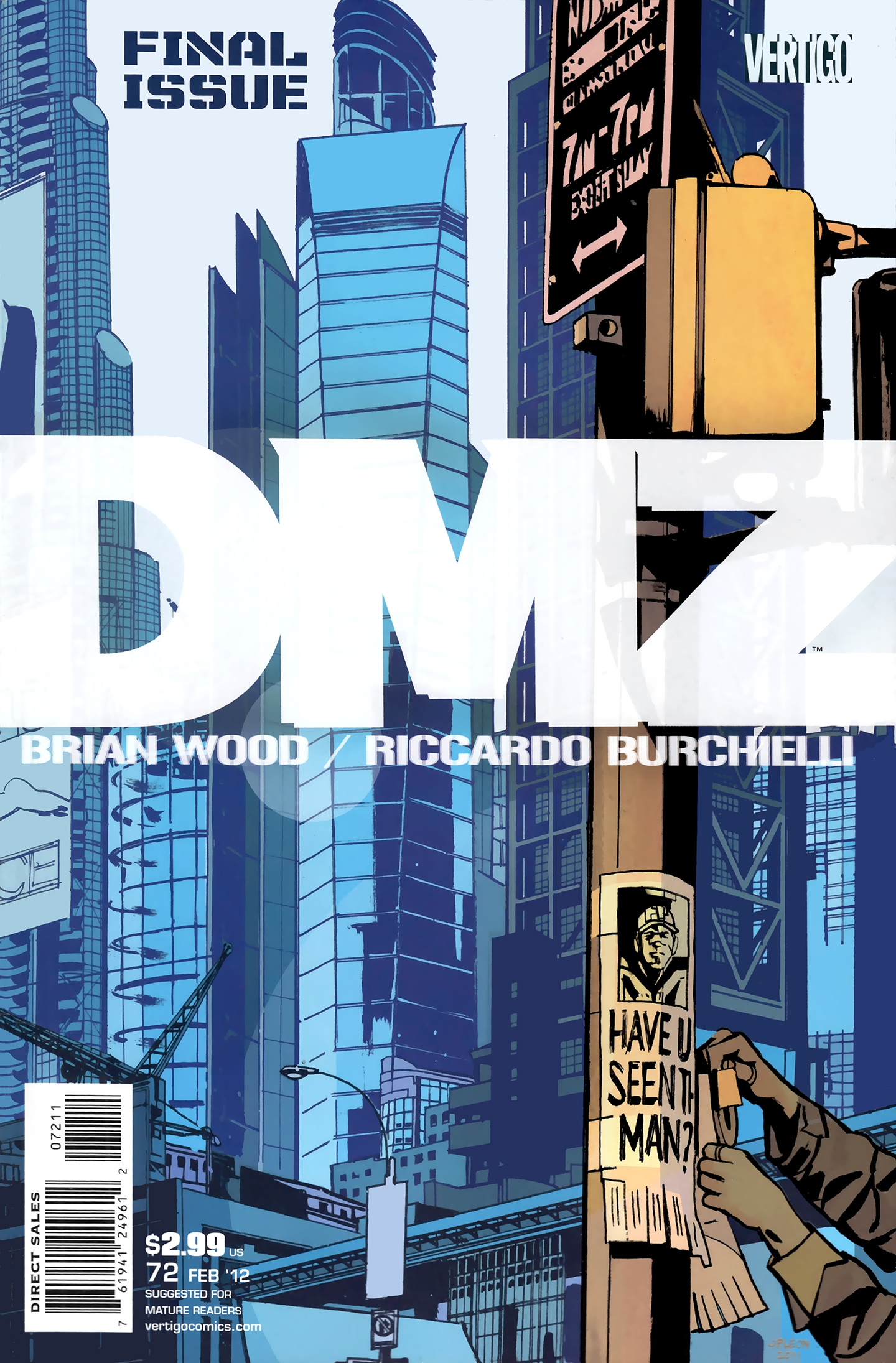 DMZ (2006) issue 72 - Page 1
