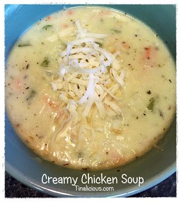 Creamy Chicken Soup Tinalicious