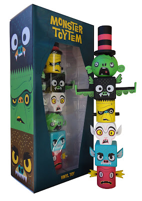 Kidrobot Exclusive Monster Toytem by Gary Ham