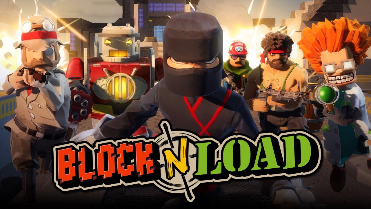 второй этап тестирования Block N Load