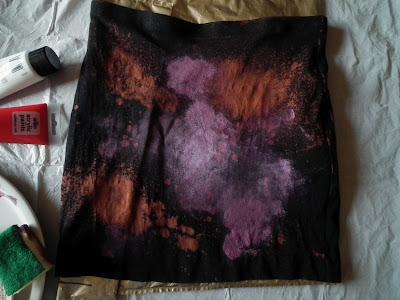 Sammi Jackson DIY galaxy skirt