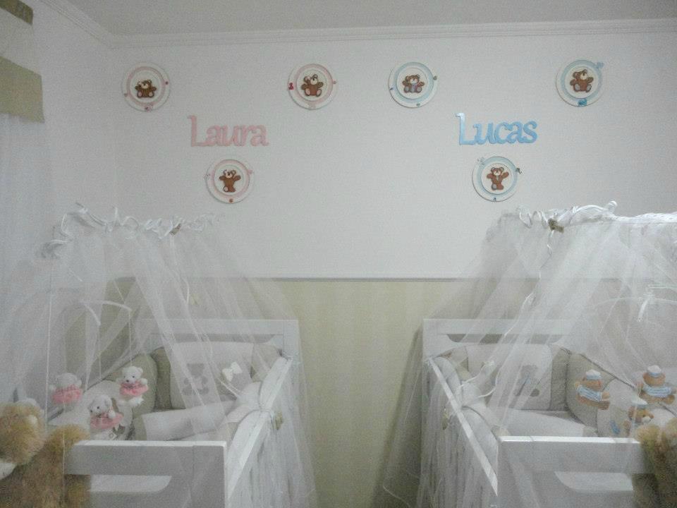Quarto Casal de Gêmeos  Laura e Lucas » Gemelares