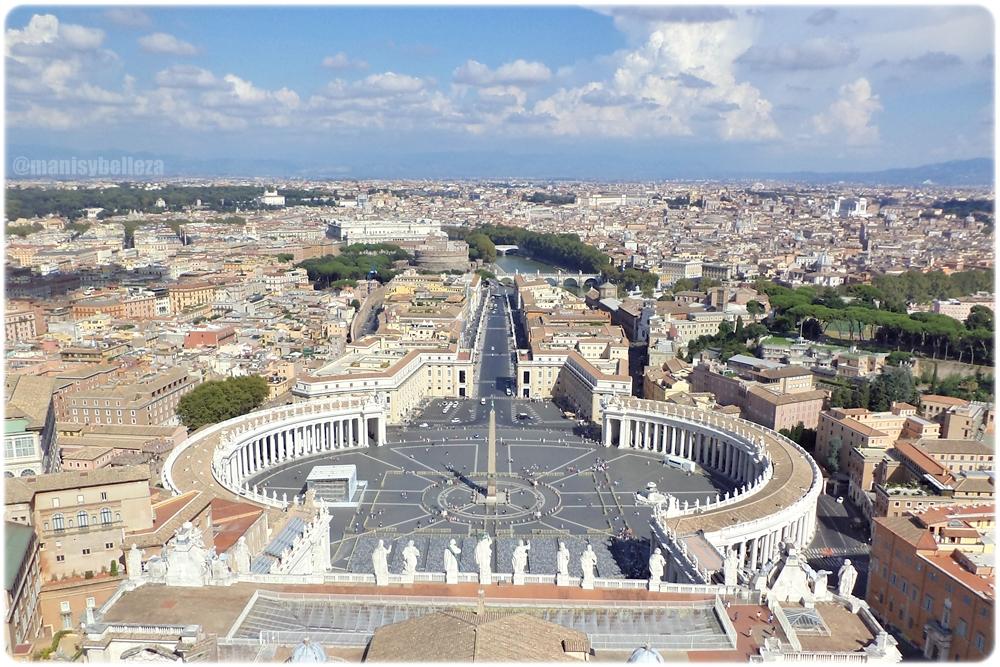 Plaza Basilica San Pedro El Vaticano Italia Roma