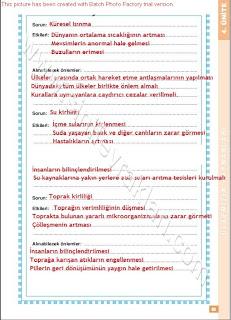 6. Sınıf Sosyal Bilgiler Altın Yayınları Öğrenci Çalışma Kitabı Cevapları Sayfa 83