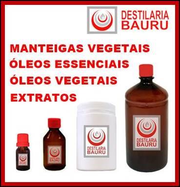 Manteigas Vegetais, Extratos, Óleos prensados a frio...