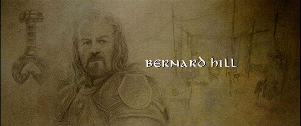 beautiful things lord of the rings credits art