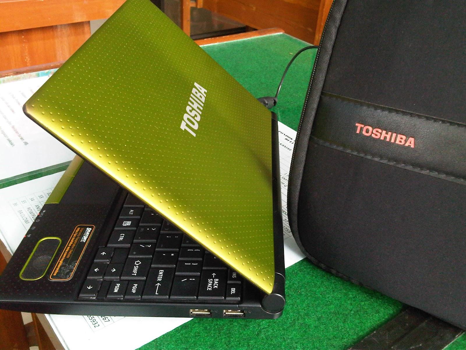 LaptopSecondBekasMalangNetbookToshibaN520Mantap