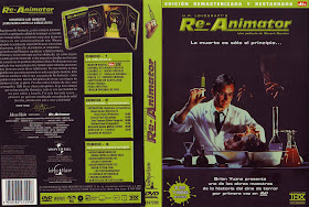 Carátula: Re-Animator 1985