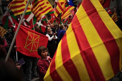 Katalónia, katalán-függetlenség, Spanyolország, katalán-népszavazás,