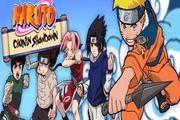 لعبة ناروتو وجمع النجوم المتشابهة الالوان Naruto Chunin Showdown