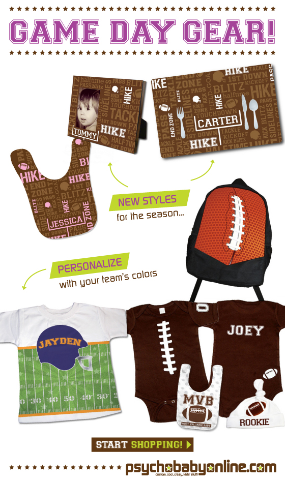 Football Gifts for Baby and Kids