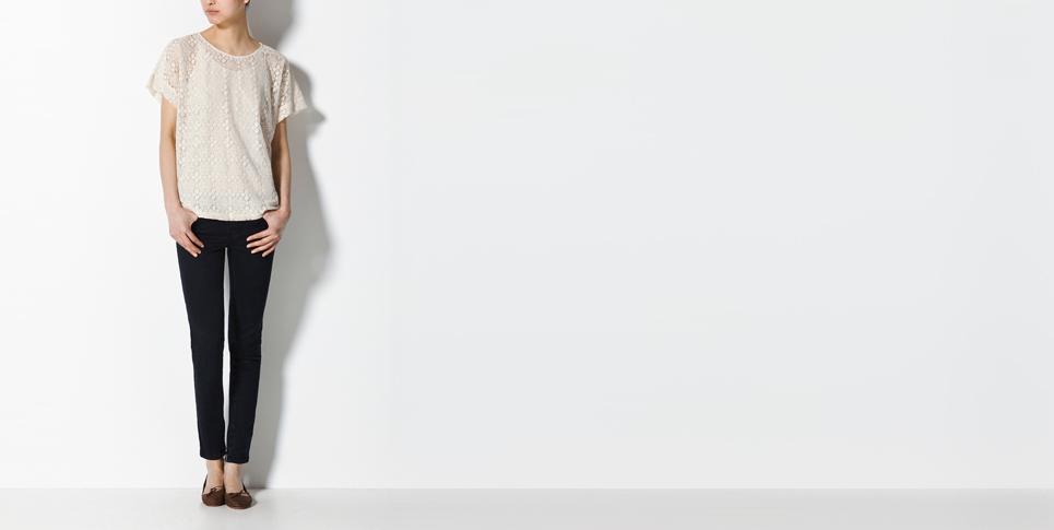 Las camisetas blancas de crochet son muy bonitas y femeninas