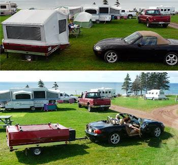 A Miata can pull a camper!