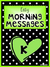 Morning Messages: Kindergarten