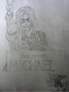 Desenhos Para Colorir Michael Jackson