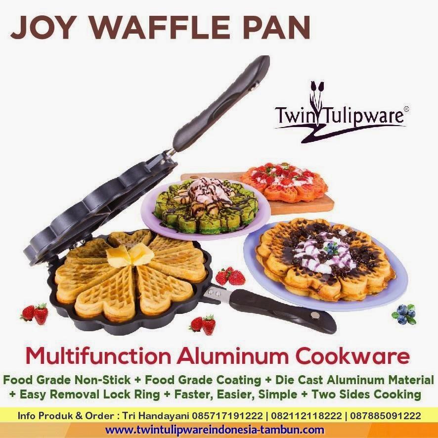 Produk Baru Twin Tulipware 2015 : Joy Waffle Pan, Panci Tulipware