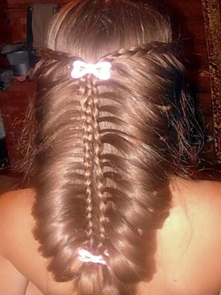 Видео плетение кос в домашних условиях
