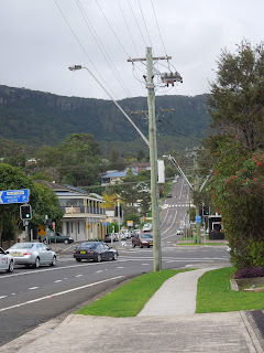 Looking North in Thirroul