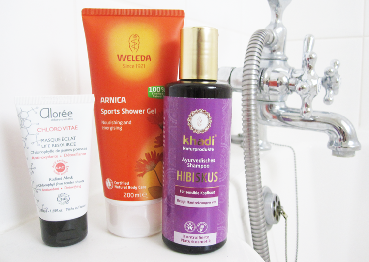 A Mini Green Beauty Pamper with Aloree, Weleda & Khadi