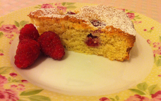 A Passion for Baking by Jo Wheatley - Raspberry Torte