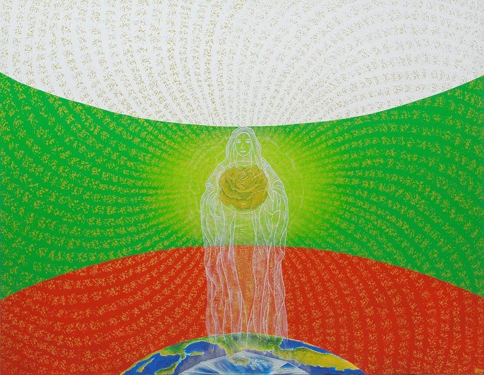 Розата символизира България, чиято съдба държим в нашите ръце!