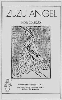 zuzu angel.  Moda anos 70; propaganda anos 70; história da década de 70; reclames anos 70; brazil in the 70s; Oswaldo Hernandez