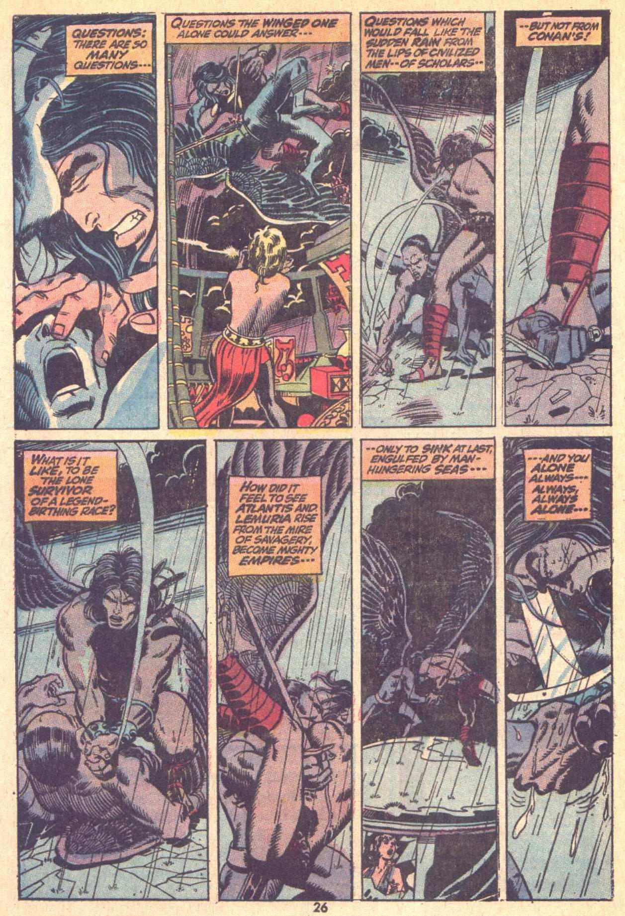 Conan the Barbarian (1970) Issue #9 #21 - English 18