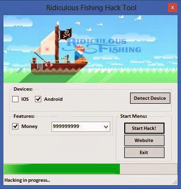Ridiculous Fishing Hack