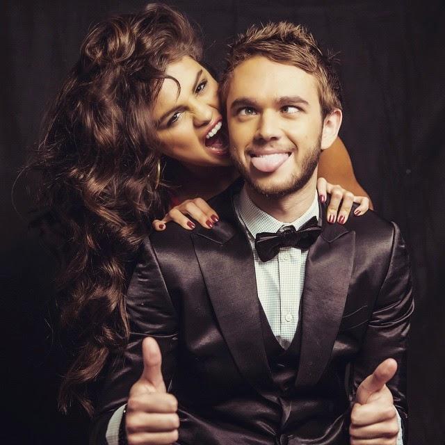 Pareja de locos Dj Zedd y Selena Gómez