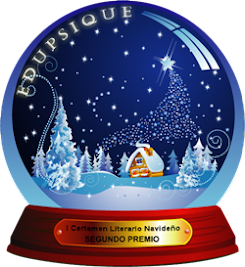 Segundo premio en el I Certamen Navideño de La Comunidad EDUPSIQUE