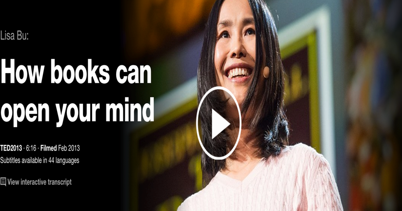 Must Watch TED Talks on The Power of Reading Books