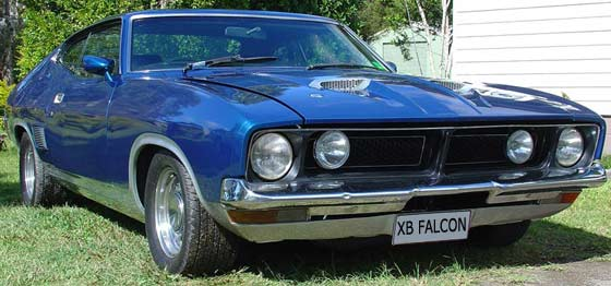 supercarworld ford falcon xb coupe v8 interceptor. Black Bedroom Furniture Sets. Home Design Ideas