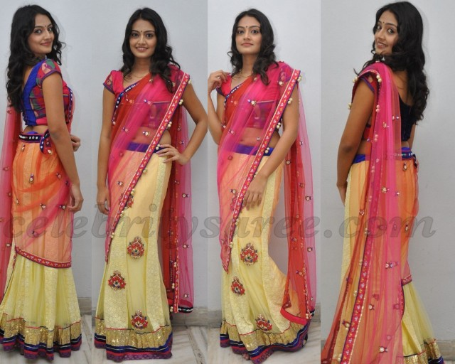 Nikitha Narayan Half Saree Photo Shoot