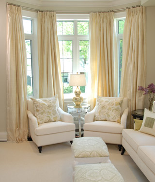 Something About A Soft Creamy Ivory Room That Makes It
