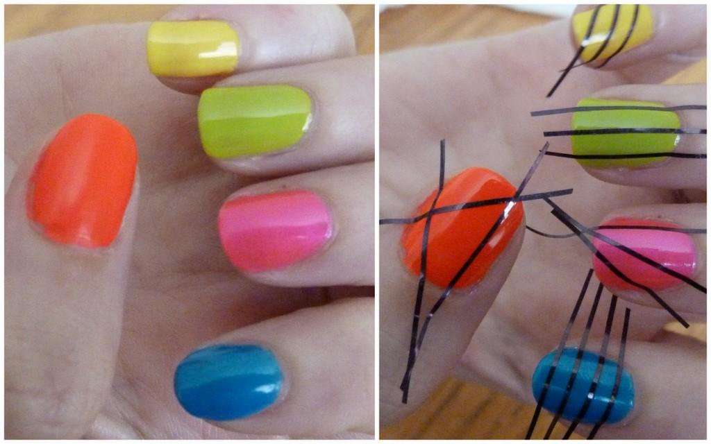 Black and neon nails   Lovely Girlie Bits - Best Irish Beauty Blog ...
