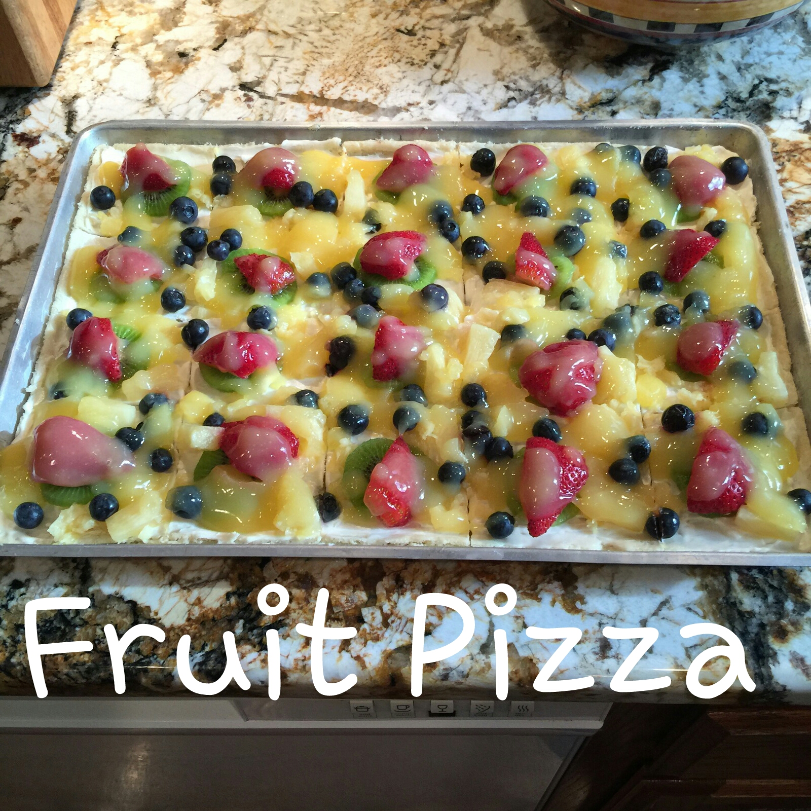 My Patchwork Quilt: FRUIT PIZZA