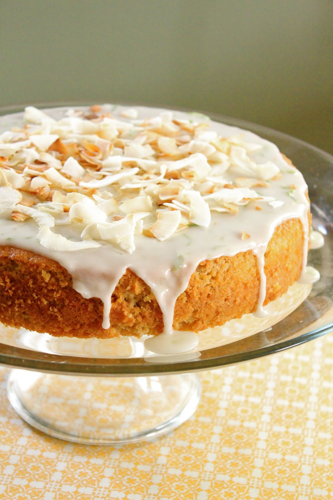 ... am super happy about posting this new recipe, coconut lime cake