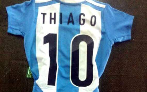Thiago Messi también lucirá la «10» de Argentina