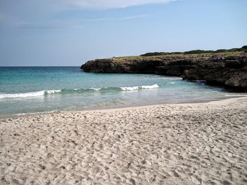 Caló d'en Rafelino nudist beach in Mallorca