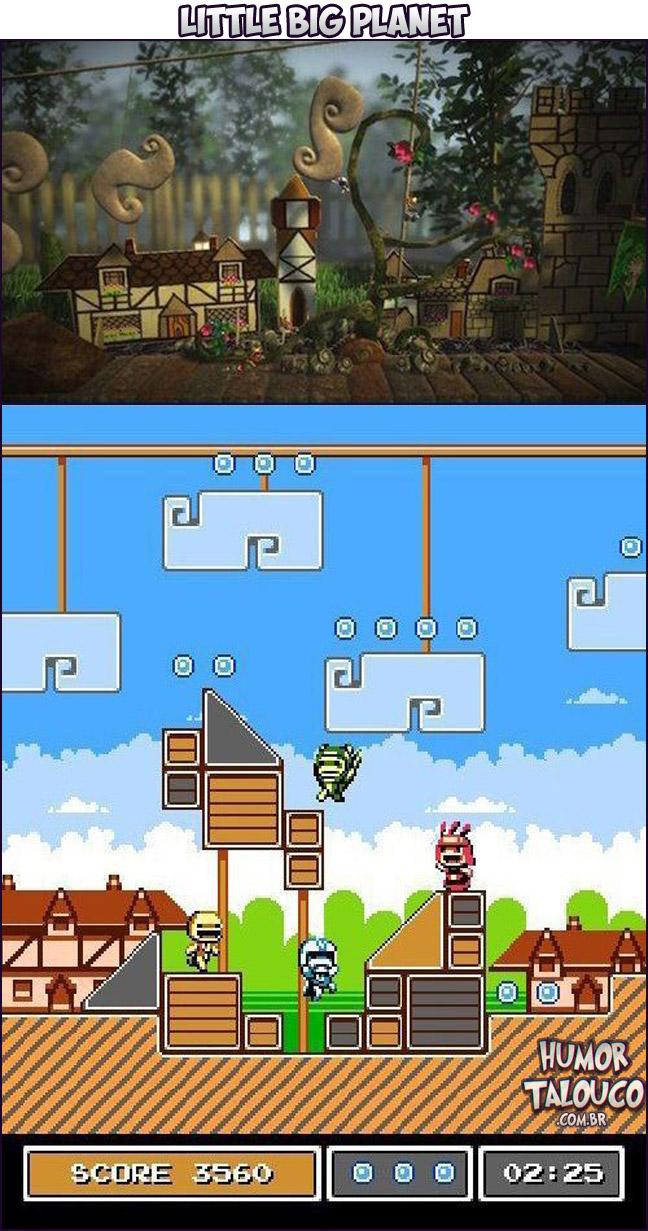Games Atuais com Gráficos de Super Nintendo - Little Big Planet