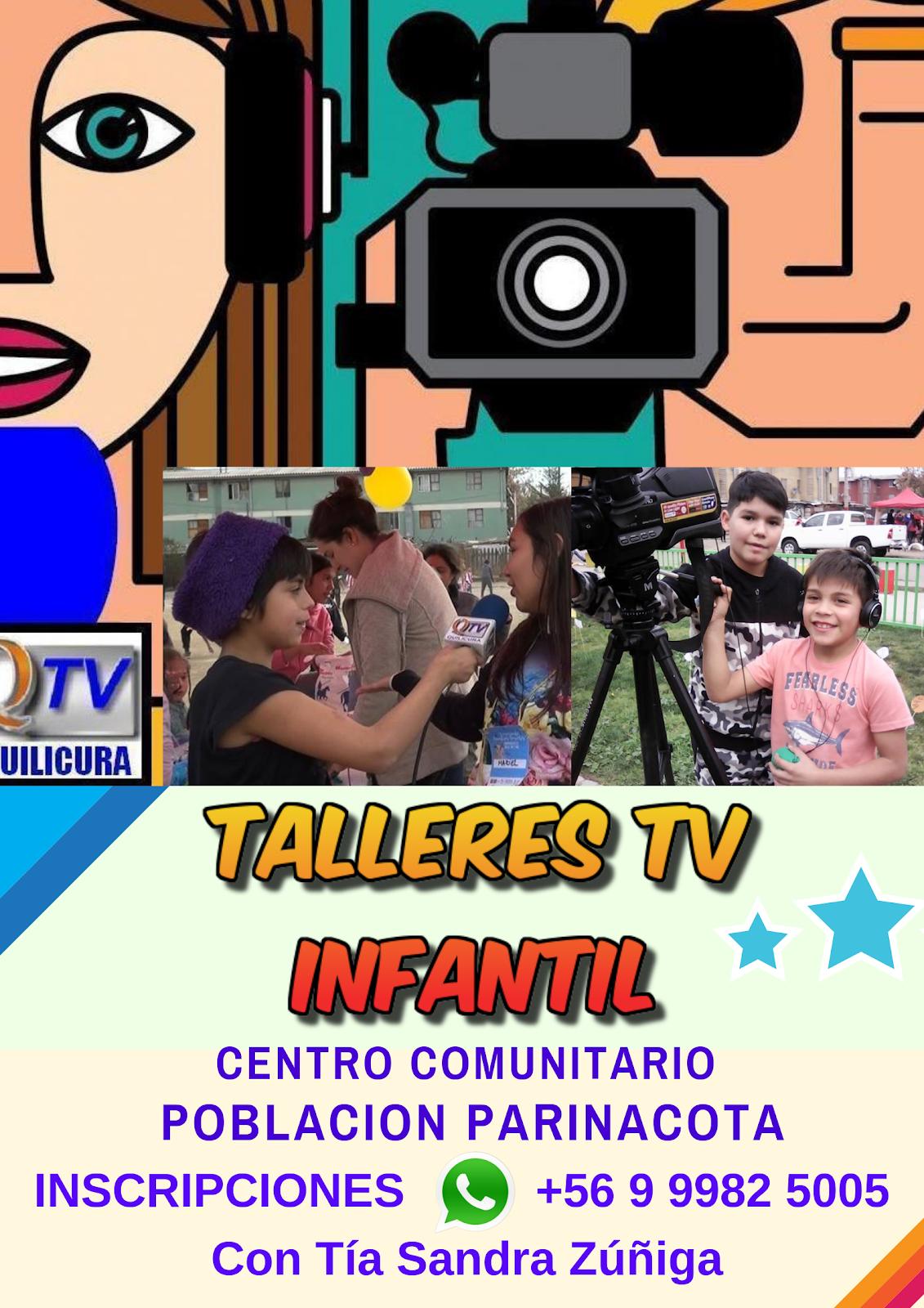 TALLERES de TV INFANTIL