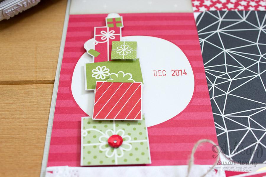 Seasonal Snapshot Holiday 12x12 Decor detail ~ Susan Wong