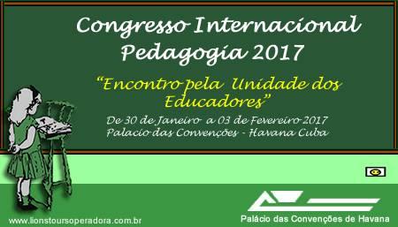 Congresso Internacional de Pedagogia - Cuba/2017