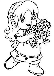 Desenhos De Menina Para Colorir E Pintar