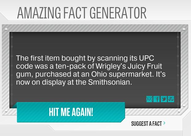 Amazing Fact Generator