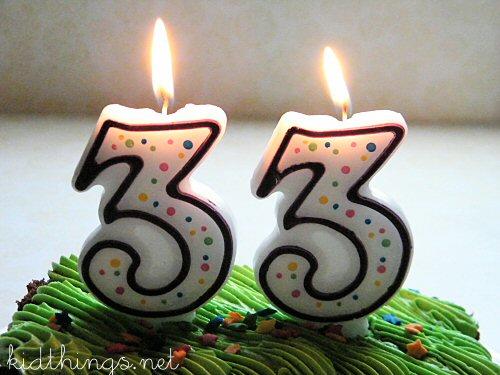 Поздравление на 33 года девушке прикольные
