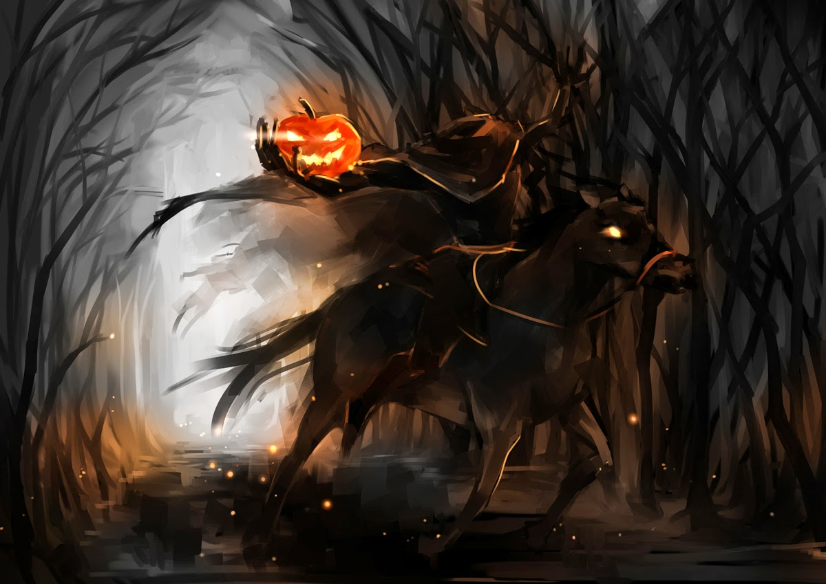 Follow your bliss the legend of sleepy hollow - Pictures of the headless horseman ...