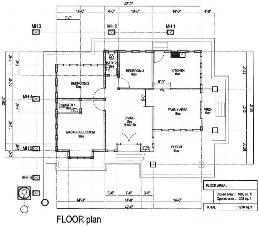 Plan Rumah Sayyidina Umar - Bukit Merbau