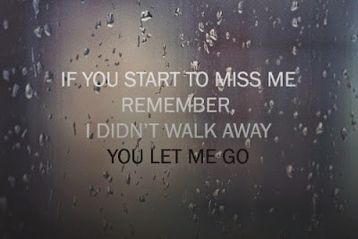 one day you will miss me images