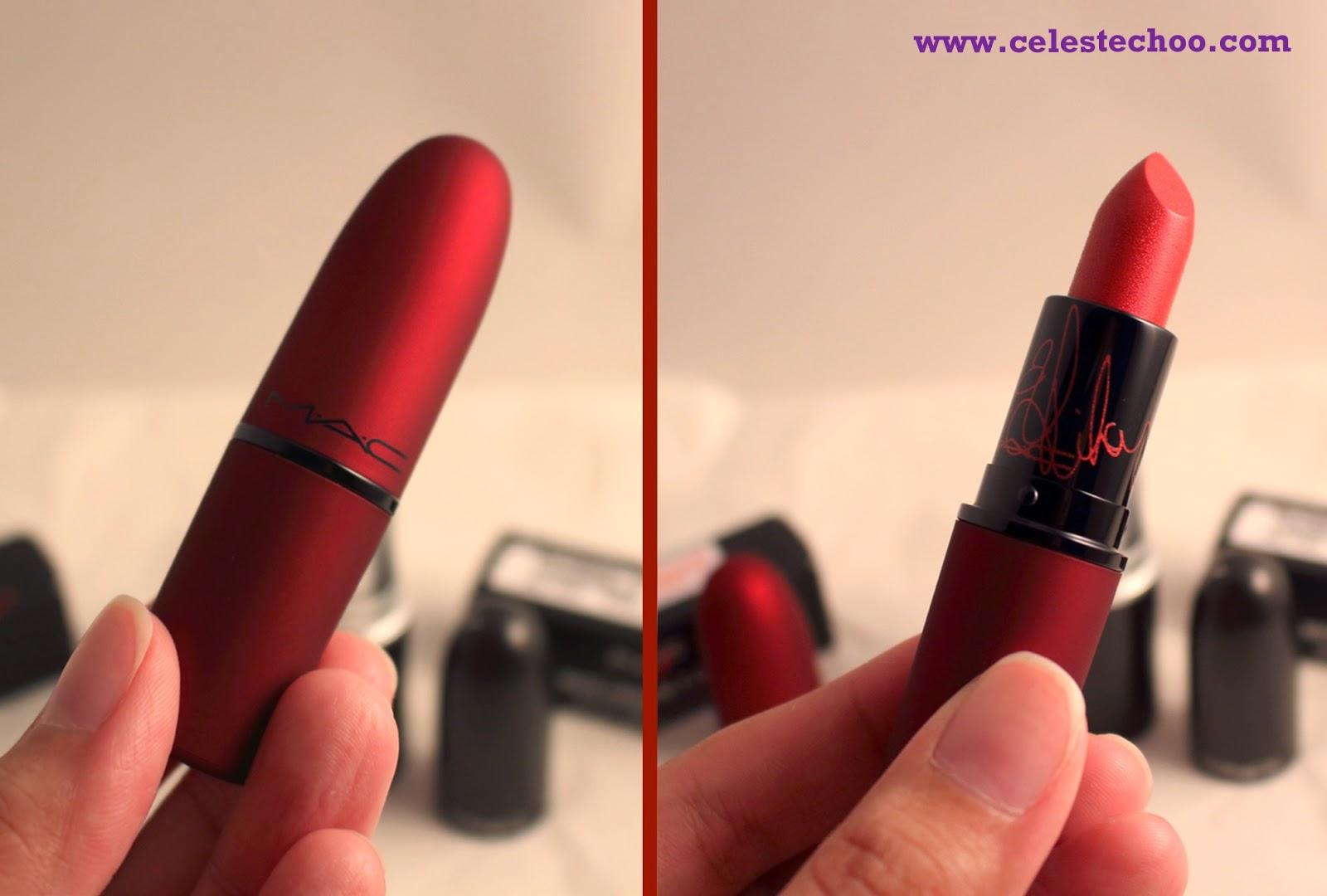 Mac Rihanna Viva Glam Red Lipstick Rm68 For 3g